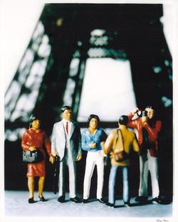 Eiffel Tower Undocumented Tourists