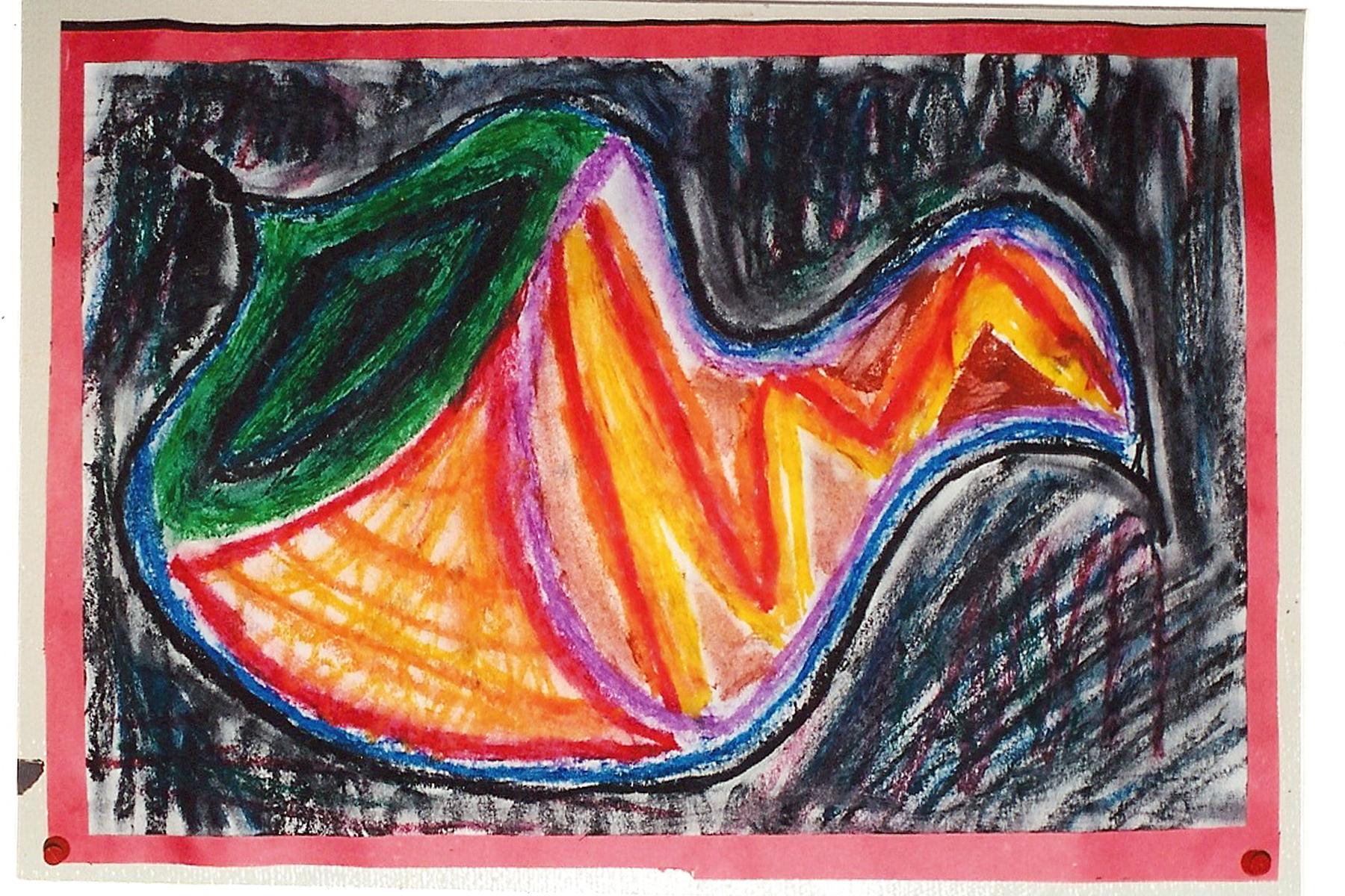 HS Expressionist Pastel