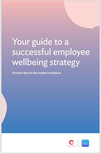 Calm App - guide to wellbeing - Dec 2020