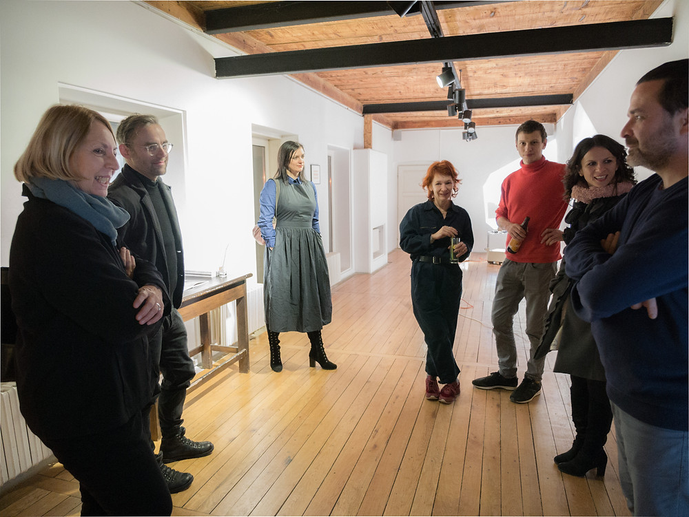 Opening of the show at Pygmalion Gallery, Casa Artelor, Timișoara, Photo Credit © Daliana Iacobescu