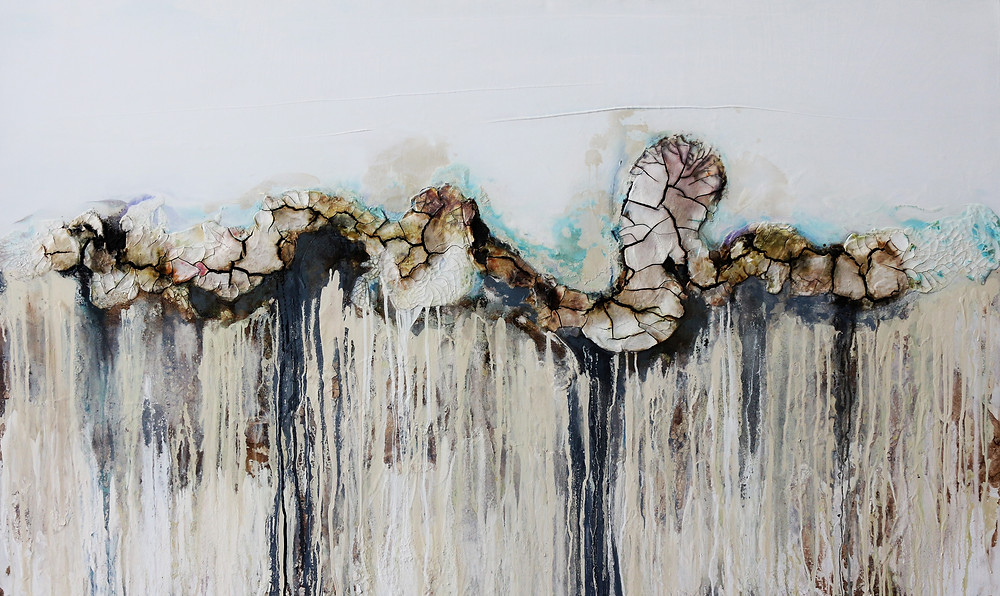 Mirela Iordache, Imaginary Boundary, 120 X 200 cm. Courtesy of the Artist