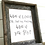 Thumbnail: What If I Fall Rustic Barnwood Framed Art