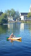 Kayak monoplace, location La Flèche
