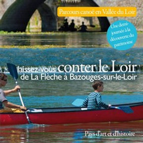 Plaquette parcours canoë en Vallé du Loir