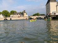Canoe en famille La Flèche