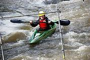 Slalom - Course de kayak de La Flèche en Sarthe