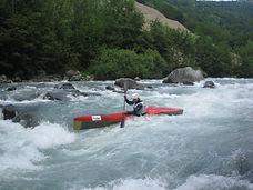 Kayak  de descente en rivière