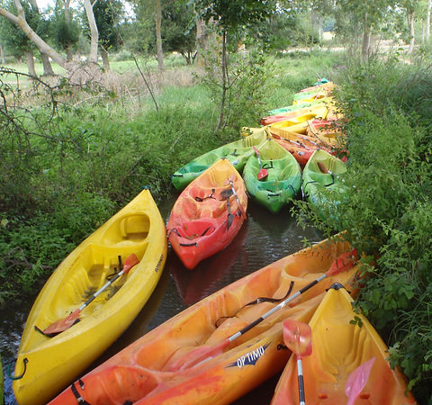 Canoes Optimo - Location