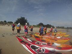 Sortie kayak de mer - Club de La Flèche