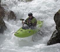 Kayak haute rivière - Paul Vaillant