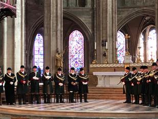 Choeur de Trompes pour saint Hubert