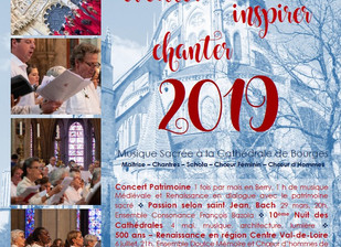 2019 : éveiller, inspirer, chanter !