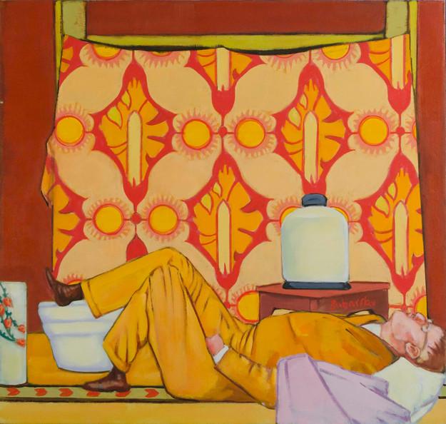Bonnard as a Matisse Odalisque