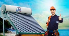 Calentamiento energía solar