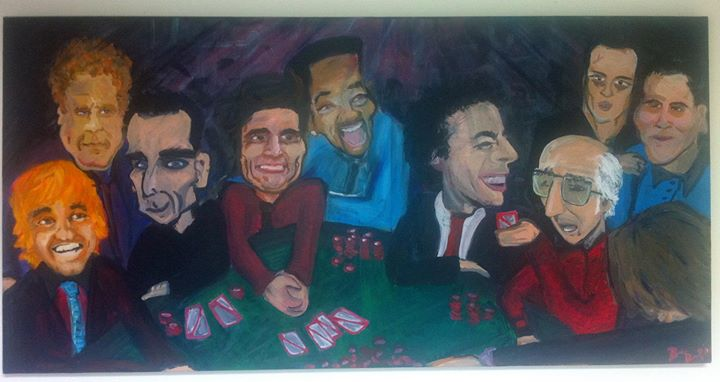 My favorite actors and comedians playing poker