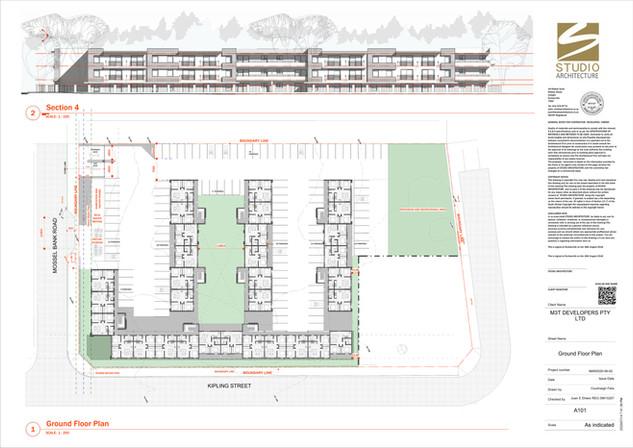 VERSION 7 - Sheet - A101 - Ground Floor