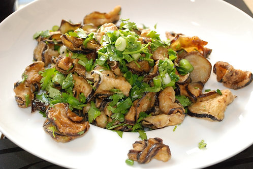 Салат из баклажан на азиатский манер