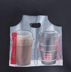 τσάντα  καφέ  glassbag