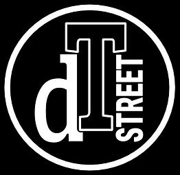 dT STREET Logo Black Base Black Rim.png