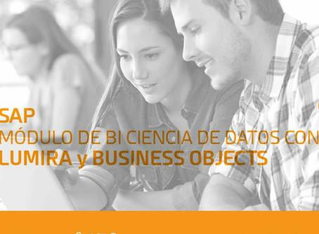Matrícula Abierta: Módulo de BI Ciencia se Datos con Lumira y Business Objects