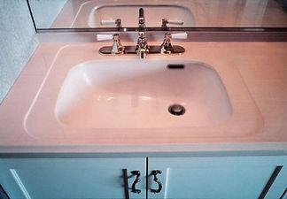 フレンチシックな洗面器