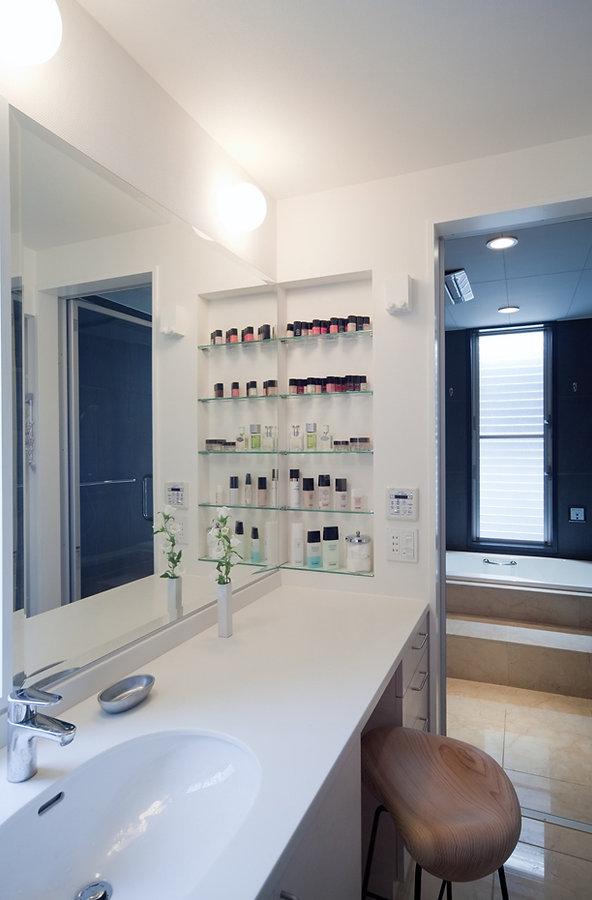 洗面室 壁面収納