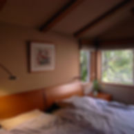 ベッドルームの照明