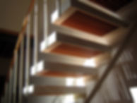 スノコの階段