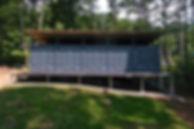 コンテナハウス 屋根付き