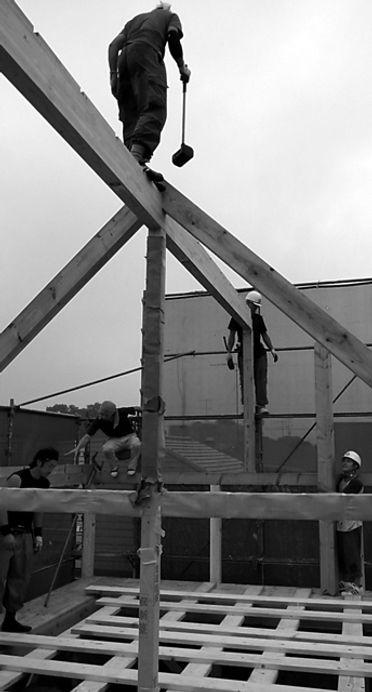 建方 建前 鳶職人
