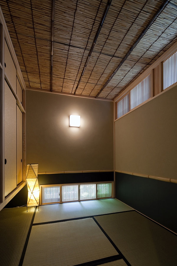 茶室のような和室