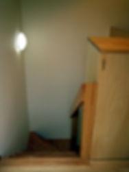 階段と収納