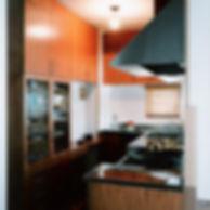 コの字型キッチン