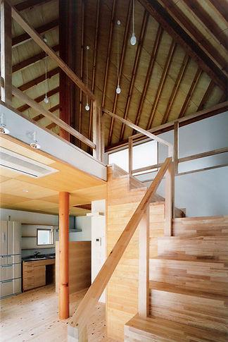 吹抜と階段