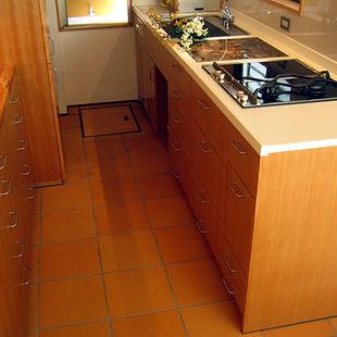 キッチンカウンター:大理石