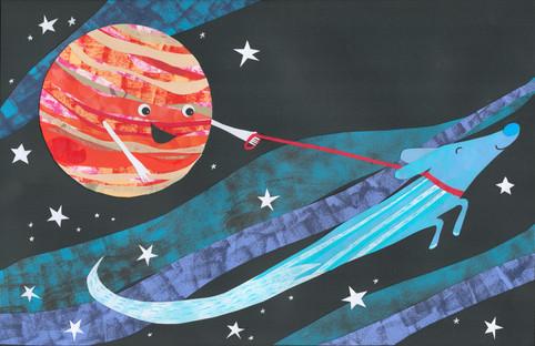 Jupiter and Comet