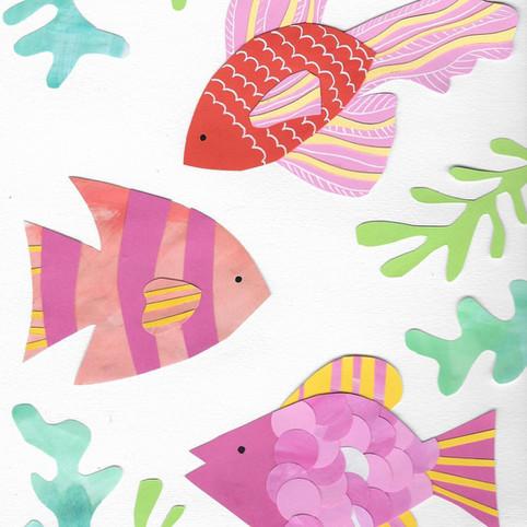 collage fish