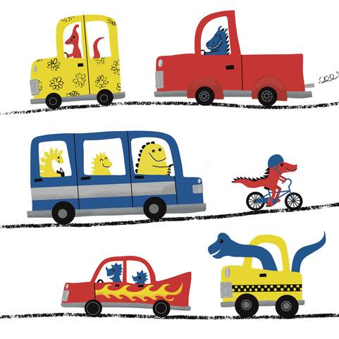 dinos and vehicles.JPG