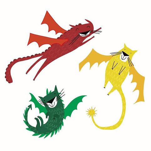 Dragon cats