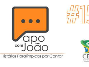 Papo com João #15 - André Brasil Campeão Paralímpico e a Tatiana Caparelli
