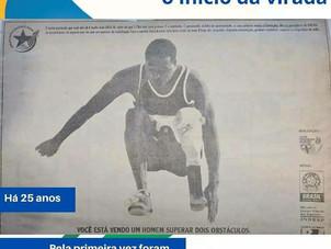 Há 25 anos: sonho e ousadia levaram o esporte paralímpico para os jornais
