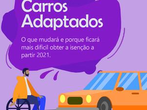 Carro Adaptado - O que mudará a partir de 2021