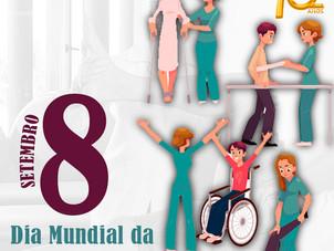 Dia Mundial da Fisioterapia - 8 de setembro