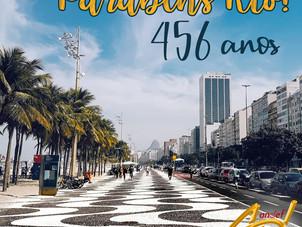 Parabéns Rio - 456 anos!