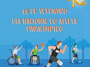22 de setembro - Dia Nacional do Atleta Paralímpico