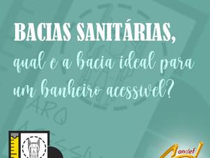 Bacias Sanitárias, qual é a bacia ideal para um banheiro acessível.