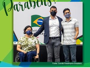 Mizael Conrado reeleito Presidente do CPB (Comitê Paralímpico Brasileiro)