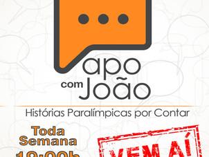 """""""Papo com João"""" - Histórias Paralímpicas por Contar"""