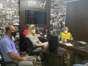A Andef se reunine para discussão da retomada das atividades no novo normal.
