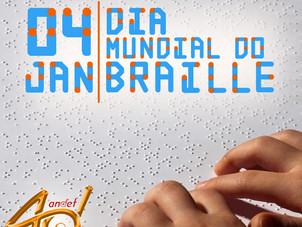 04 de Janeiro - Dia Mundial do Braille